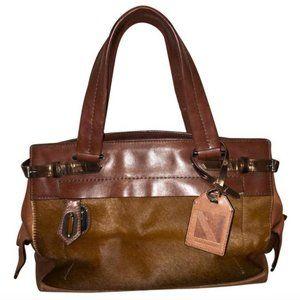 Reed Krakoff Pony Hair Fur Leather Editor Handbag